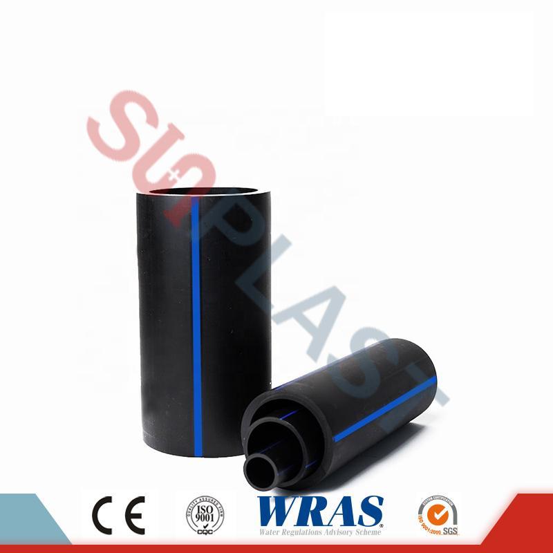 HDPE țeavă (Poly Pipe) în culoarea negru / albastru pentru alimentarea cu apă