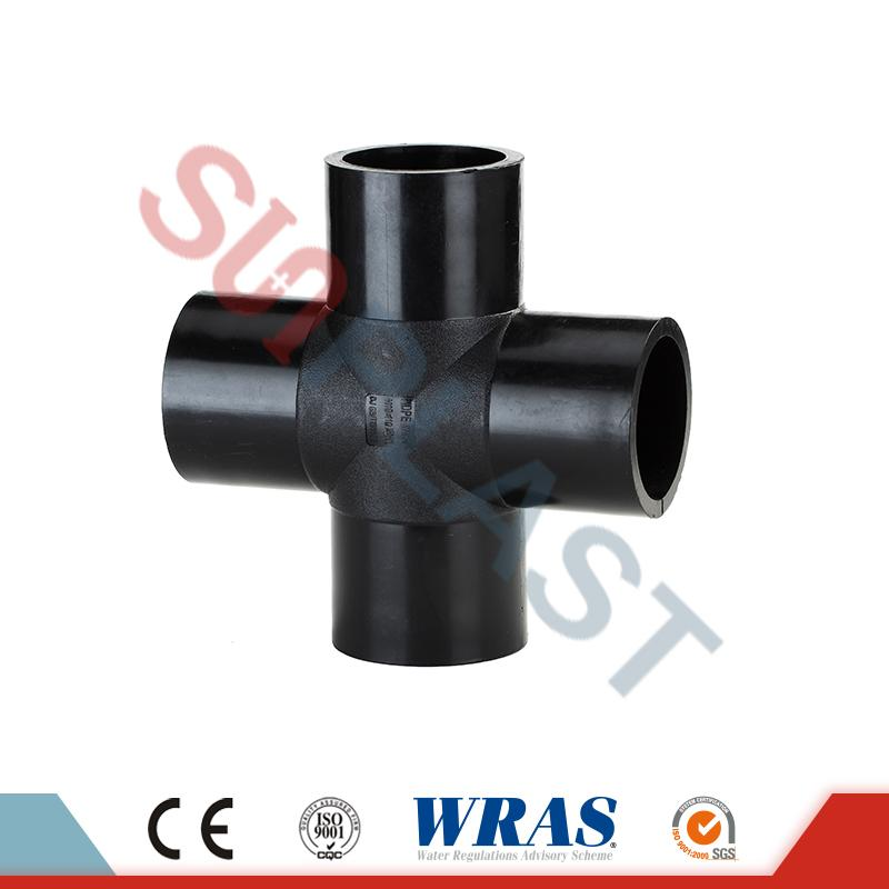 HDPE Butuc Fusion Cross Fittings