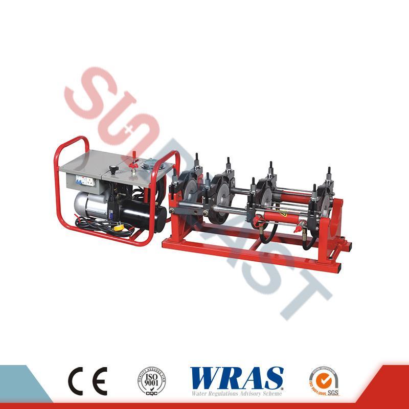 160-315mm mașină de sudură hidraulică de sudură pentru țeava HDPE