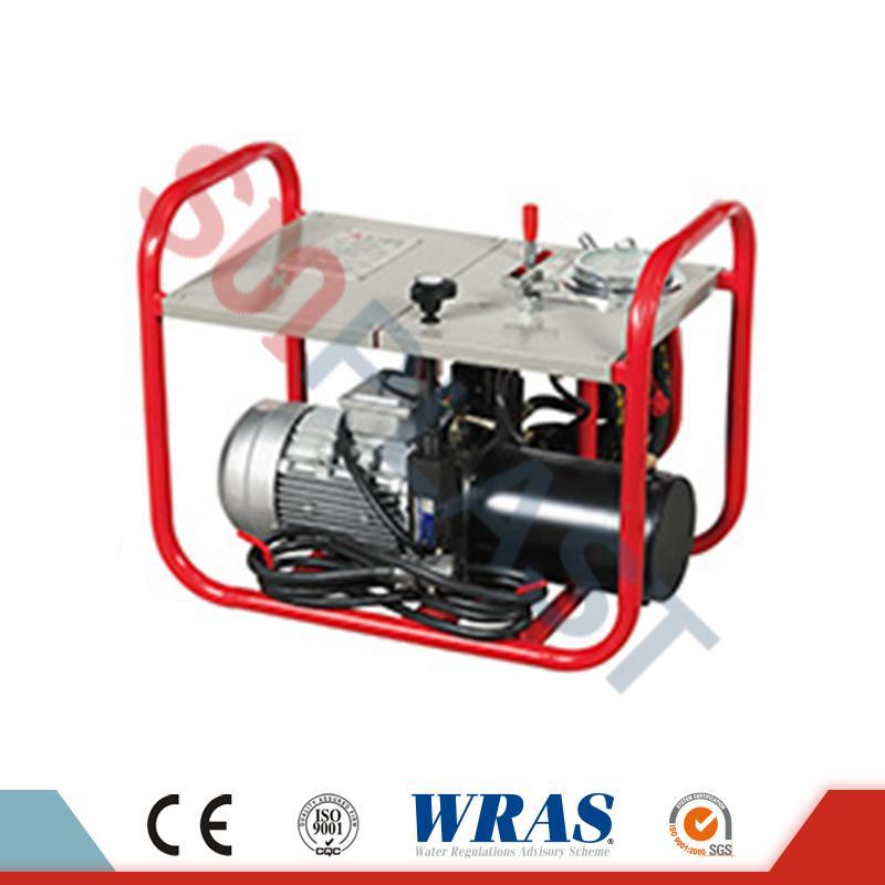 63-200mm Mașină de sudură manuală / hidraulică de sudură pentru țeava HDPE