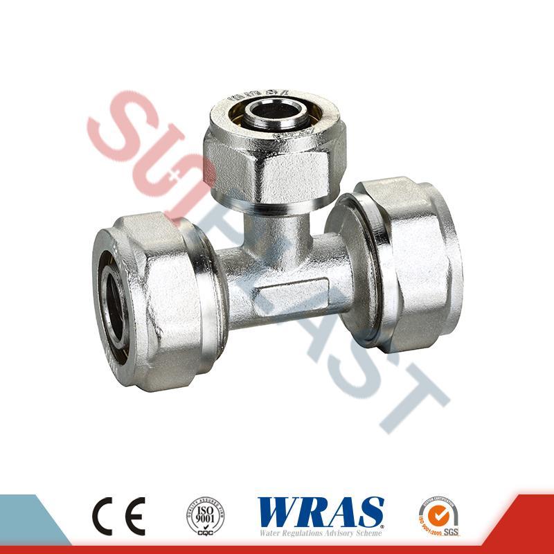 Alama pentru compresie din aluminiu pentru țeavă multistrat PEX-AL-PEX