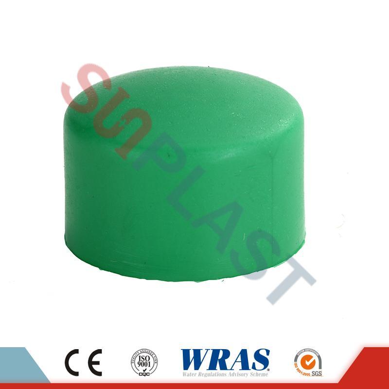 Green PPR End Cap