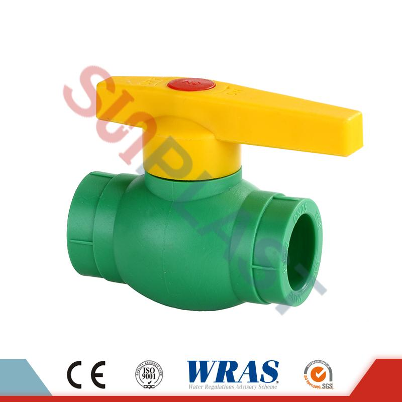 Grey PPR Ball Valve